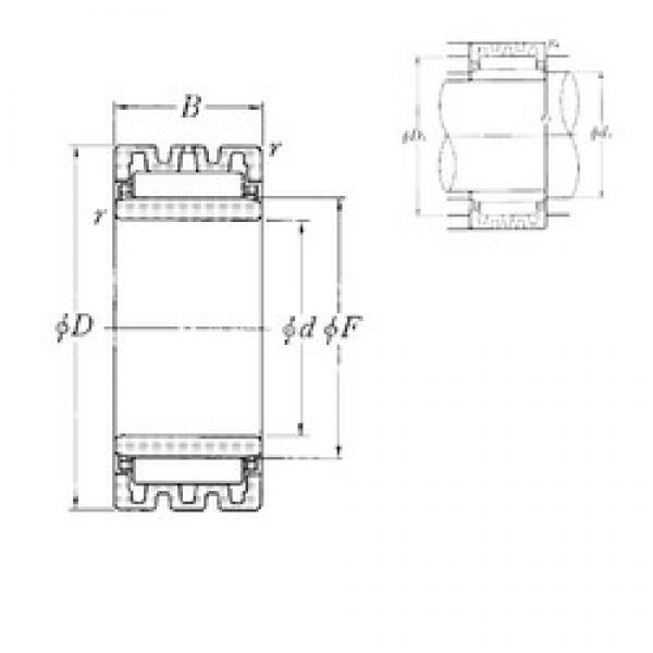 75 mm x 105 mm x 30 mm  NTN NA4915S needle roller bearings #3 image