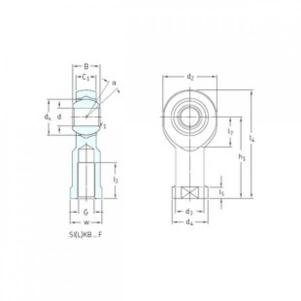 SKF SILKB16F plain bearings #3 image