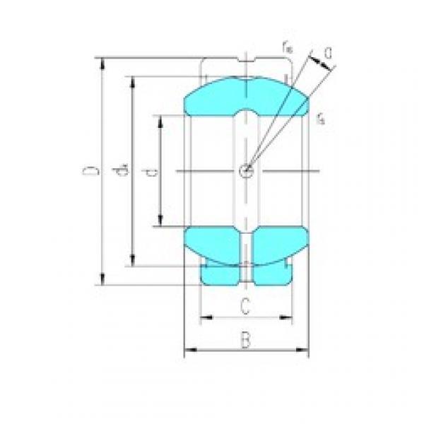 17 mm x 30 mm x 14 mm  LS GE17ES-2RS plain bearings #3 image