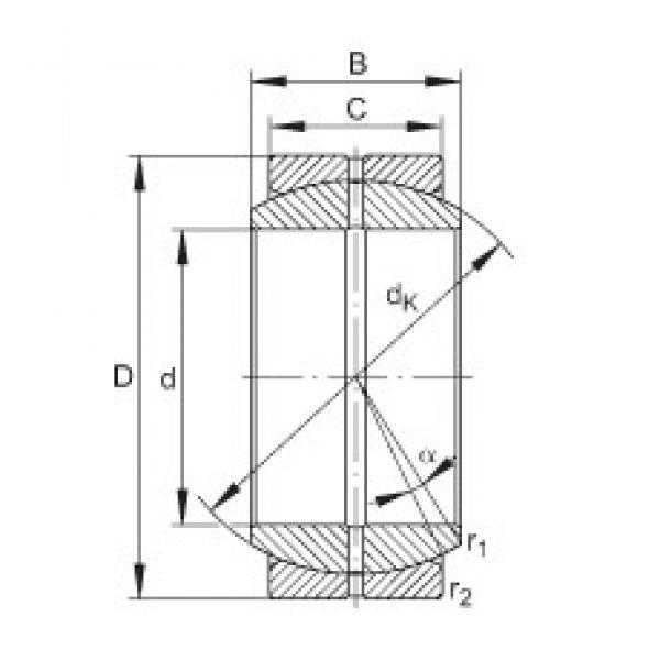 INA GE200-DO plain bearings #3 image