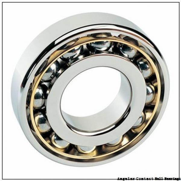 37,6 mm x 203 mm x 157,5 mm  PFI PHU5077 angular contact ball bearings #3 image
