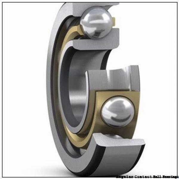 12 mm x 28 mm x 8 mm  NSK 7001 C angular contact ball bearings #1 image