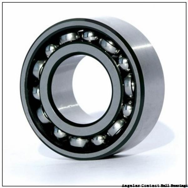 35 mm x 62 mm x 14 mm  NTN 2LA-HSE007CG/GNP42 angular contact ball bearings #1 image