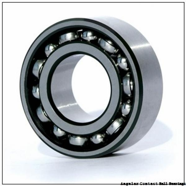 NSK BA200-7B angular contact ball bearings #1 image