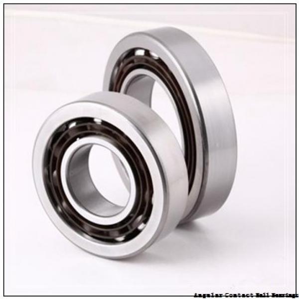 17 mm x 40 mm x 24 mm  SNR 7203HG1DUJ74 angular contact ball bearings #2 image