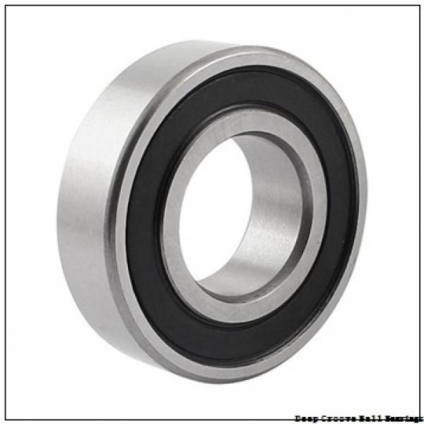 10 mm x 19 mm x 5 mm  NSK 6800 deep groove ball bearings #1 image
