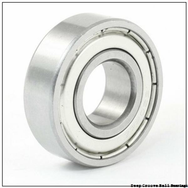 80 mm x 170 mm x 39 mm  NACHI 6316NR deep groove ball bearings #1 image