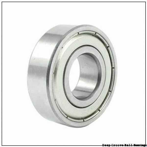 55 mm x 90 mm x 18 mm  NACHI 6011N deep groove ball bearings #1 image