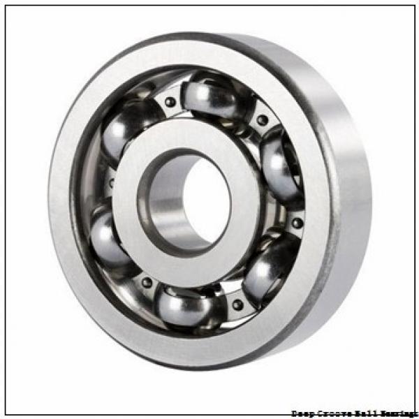 25 mm x 60 mm x 27 mm  NSK B25-163 deep groove ball bearings #1 image