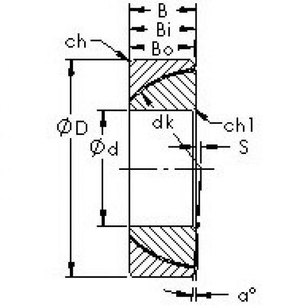 AST GAC120N plain bearings #3 image