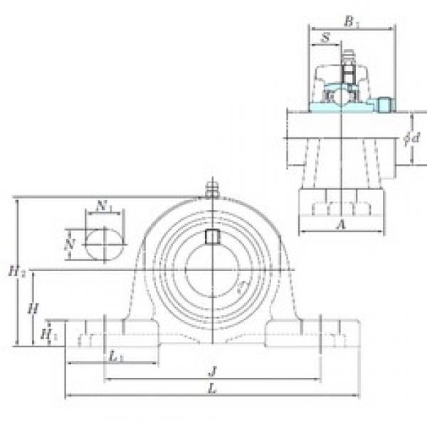 KOYO NAP209-26 bearing units #3 image