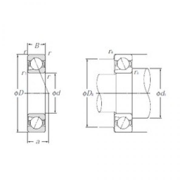10 mm x 26 mm x 8 mm  NTN BNT000 angular contact ball bearings #3 image