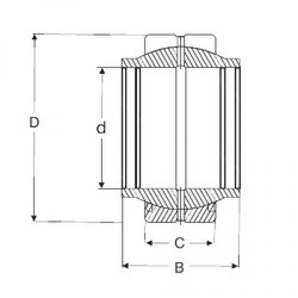 40 mm x 62 mm x 40 mm  SIGMA GEG 40 ES plain bearings #3 image