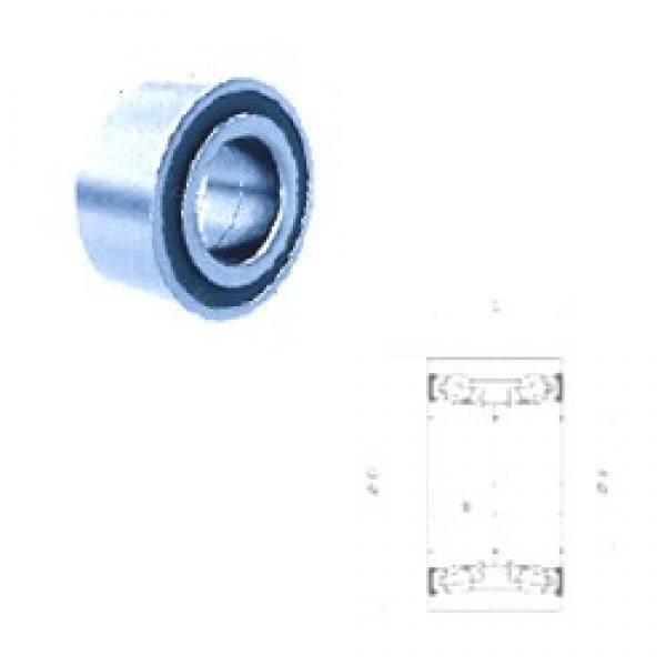 42 mm x 80 mm x 38 mm  PFI PW42800038CSHD angular contact ball bearings #3 image