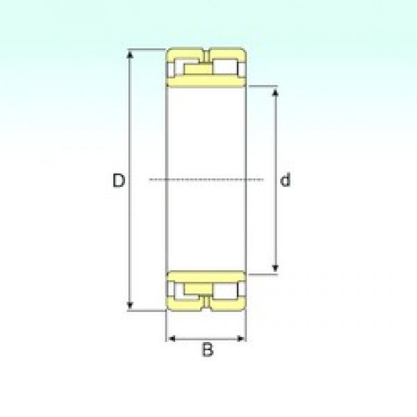 500 mm x 830 mm x 325 mm  ISB NNU 41/500 M/W33 cylindrical roller bearings #3 image