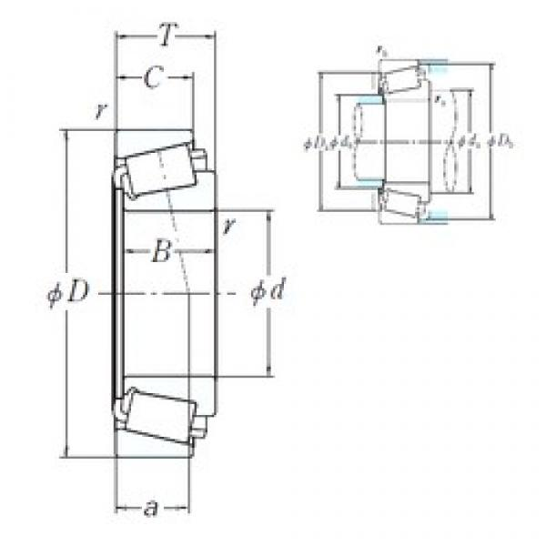187,325 mm x 266,7 mm x 46,833 mm  NSK 67884/67820 cylindrical roller bearings #3 image
