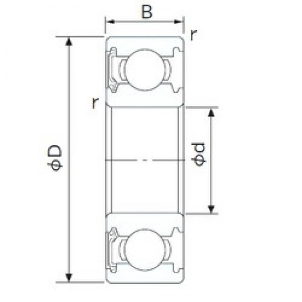 130 mm x 180 mm x 24 mm  CYSD 6926-RS deep groove ball bearings #3 image