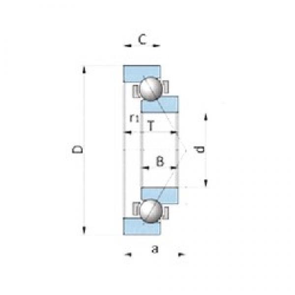 NSK BA200-7B angular contact ball bearings #3 image