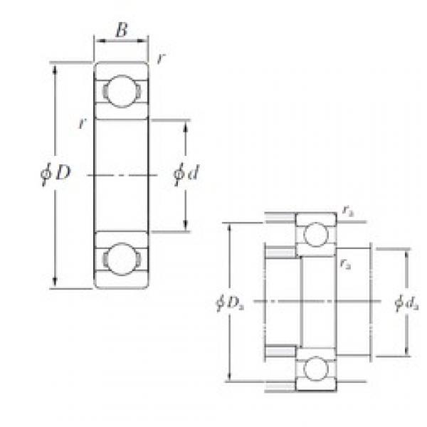 170 mm x 260 mm x 42 mm  KOYO 6034 deep groove ball bearings #3 image