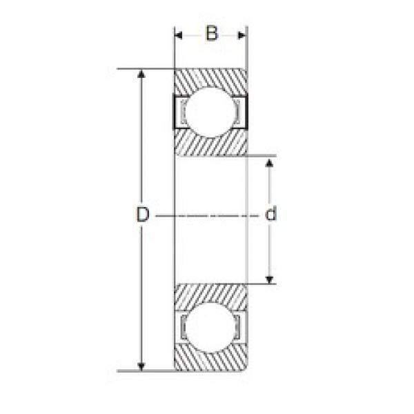 70 mm x 100 mm x 16 mm  SIGMA 61914 deep groove ball bearings #3 image