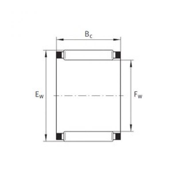 INA K28X33X13 needle roller bearings #3 image