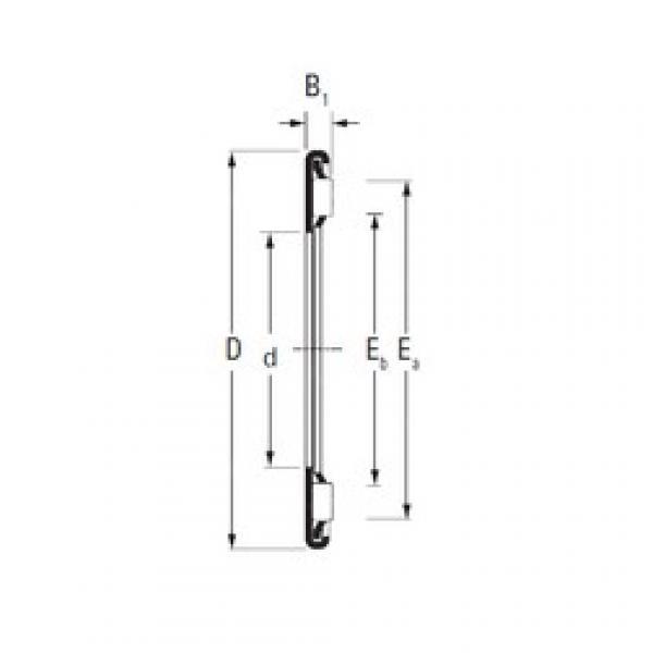 Timken AX 45 65 needle roller bearings #3 image