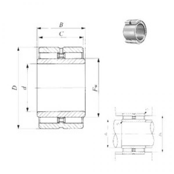 31.75 mm x 52,388 mm x 32 mm  IKO GBRI 203320 needle roller bearings #3 image