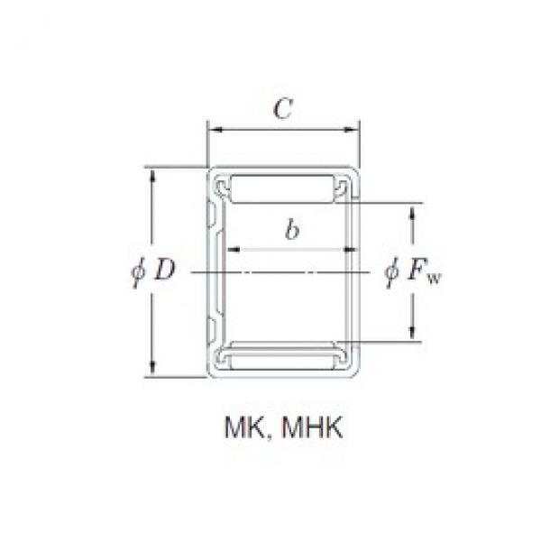 KOYO MHK10161 needle roller bearings #3 image