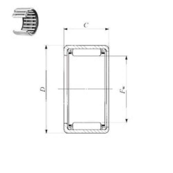 IKO TA 1715 Z needle roller bearings #3 image