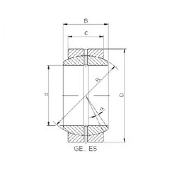 710 mm x 950 mm x 325 mm  ISO GE 710 ES plain bearings #3 image