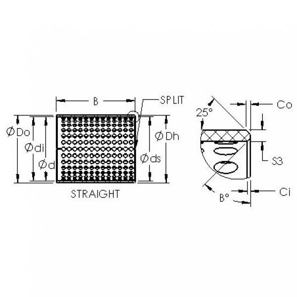 AST ASTT90 3530 plain bearings #3 image