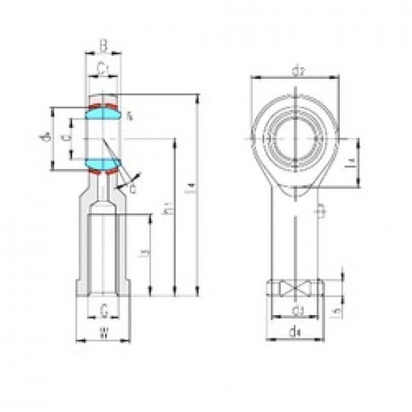 LS SIBP8S plain bearings #1 image