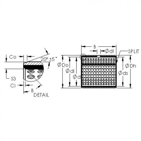 AST AST800 85100 plain bearings #3 image