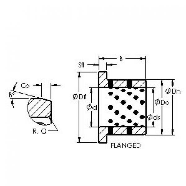 AST AST650 F455540 plain bearings #3 image