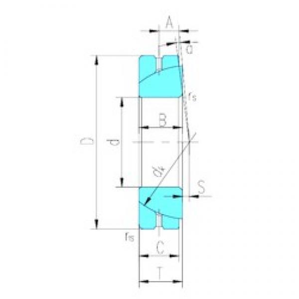 80 mm x 125 mm x 29 mm  LS GAC80S plain bearings #3 image