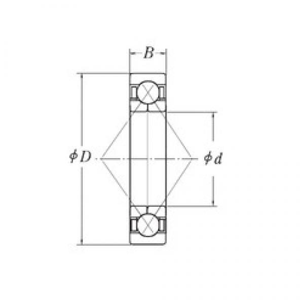 30 mm x 72 mm x 19 mm  CYSD QJ306 angular contact ball bearings #3 image